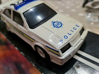£35 • Buy Scalextric Ford Sierra Cosworth Police Car C137 NEW (CAR HAS SOME YELLOWING)