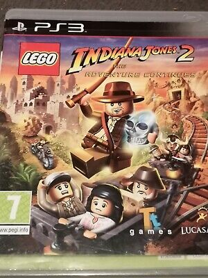 £5.95 • Buy LEGO Indiana Jones 2: The Adventure Continues For PlayStation 3 PS3 Complete
