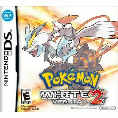 $119.99 • Buy Pokemon: White Version 2 (Nintendo, DS 2012) Authentic Cart Only #N