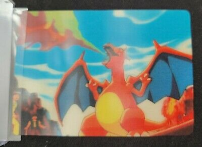 $29.99 • Buy Pokemon Charizard 3D Image Promotional Card By Pioneer