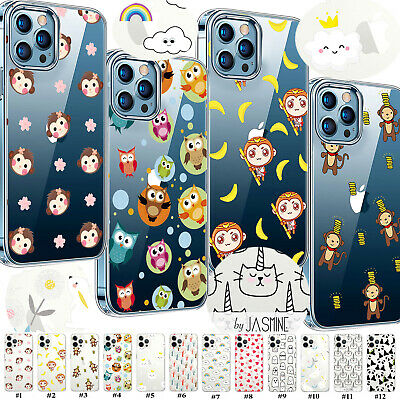 £3.96 • Buy For Apple IPhone 13 11 12 IPod Touch 7th/6th Cartoon Pattern Soft TPU Case Cover