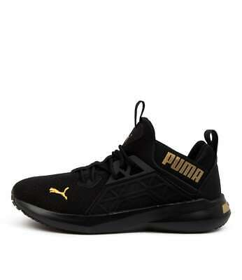 AU110 • Buy New Puma Softride Enzo N W Blk Gld Womens Shoes Active Sneakers Active