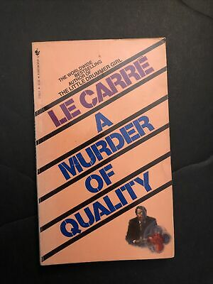 £1.46 • Buy A Murder Of Quality By John Le Carre' 1988 Paperback Edition