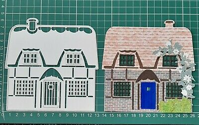 £4 • Buy Marianne Design Craftables Cutting Die - Tiny's English Cottage/House CR1219 VGC
