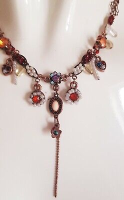 £1.20 • Buy Pre Loved Statement Charm Necklace Vintage Costume Jewellery