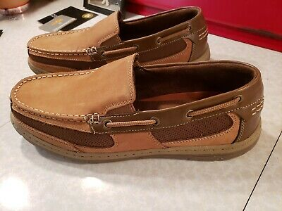 £7.31 • Buy New Croft & Barrow Men's Slip On Loafers 9 1/2  Leather And Textile Uppers