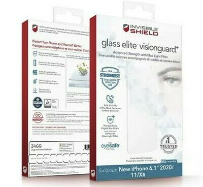 AU54.99 • Buy ZAGG Invisible Shield Glass Elite VisionGuard+ Screen Protector IPhone 12/12 Pro