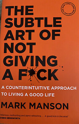 AU14 • Buy The Subtle Art Of Not Giving A F*ck-: A Counterintuitive Approach To Living A...