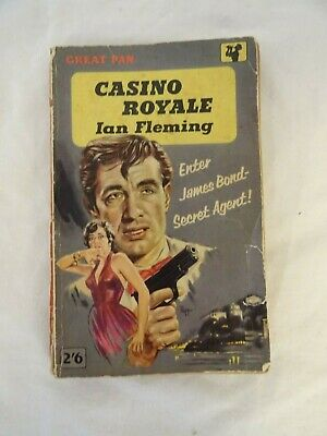 £15 • Buy Vintage 1959 Pan Paperback Edition Of  Casino Royale  By Ian Fleming