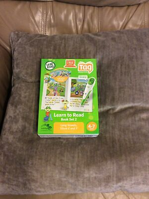 £8.99 • Buy No Pen Included Leapfrog Tag Books Learn To Read Book Set 2 Free Postage