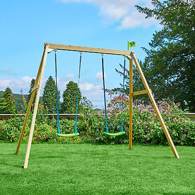 £197.83 • Buy TP Toys TP304 Wooden Swing Frame Forest Double