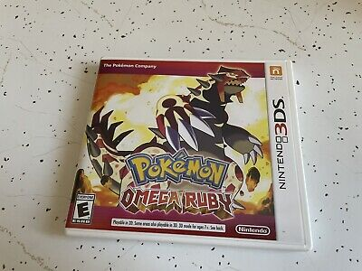 $39.99 • Buy Pokemon Omega Ruby (Nintendo 3DS, 2014) CIB / Complete - Authentic - Tested