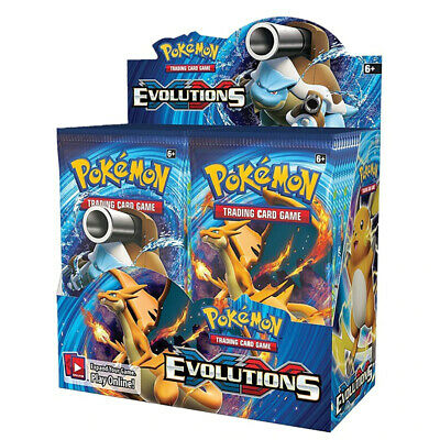 $207.50 • Buy Pokemon TCG: XY Evolutions Sealed Booster Box - Pack Of 36