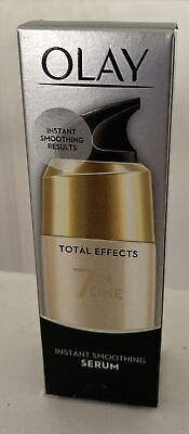 AU15.06 • Buy Olay Total Effects 7-in-1 Instant Smoothing Serum With Niacinamide,