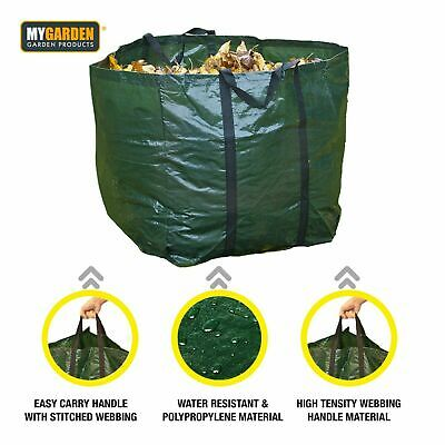 £6.95 • Buy New 2 X Garden Waste Bags 80L Reusable Heavy Duty Sacks Rubbish Bag Large Refuse