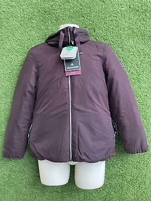 £19.99 • Buy New Craghoppers Womens Outdoor Feather Jacket Insulated Waterproof Size 14 Port