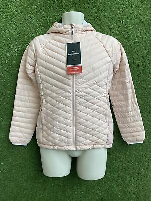 £19.99 • Buy New Craghoppers Womens Expolite Hooded Jacket Size 12 Seashell Pink