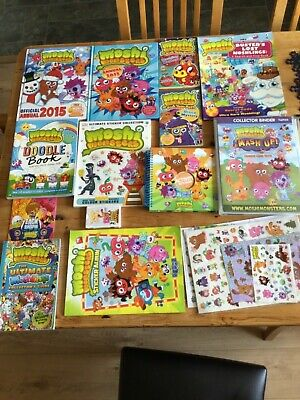 £10 • Buy Bundle Of Moshi Monsters Stickers And Albums/Annuals/Books/Guides.