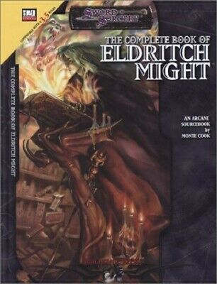 AU51 • Buy The Complete Book Of Eldritch Might (d20 3.5 Fantasy Roleplaying) Hardcover