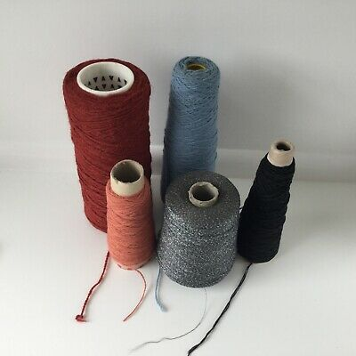 £10.99 • Buy Mixed Pack Of Five Carpet Whipping Surging Yarn Weaving Rug Making Crafts