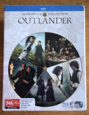 AU75 • Buy Outlander : Seasons 1-5 Collection (Blu-Ray, 25-Disc Set) New & Sealed
