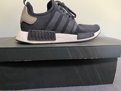 AU120 • Buy Adidas NMD R1 Core Black & Trace Cargo - Size 10 - Pre-Owned