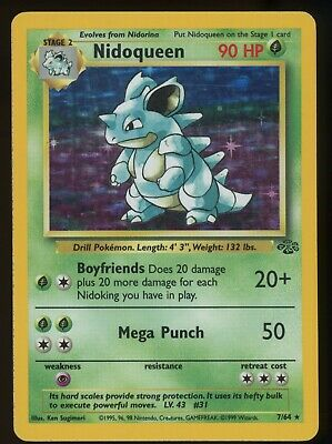 $14 • Buy Pokemon Cards Lightly Played LP Nidoqueen 7/64 Jungle