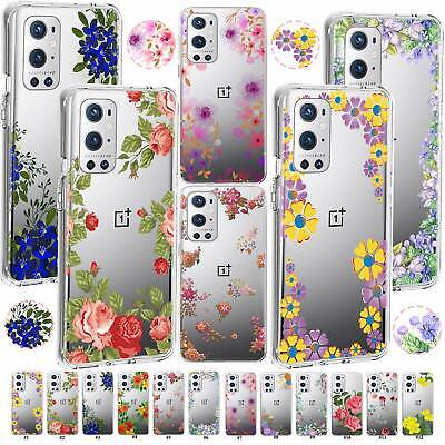 AU6.78 • Buy For OnePlus Nord 2 N200 N100 N10 9R 9/8 Pro Floral Blossom Case Silicone Cover