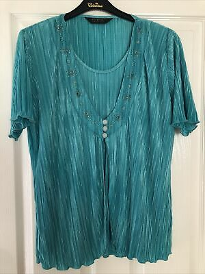 £1 • Buy Forever By Michael Gold Ladies Size L Top