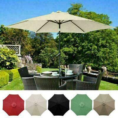 AU33.08 • Buy Replacement Fabric Garden Parasol Canopy Cover For 3 Arm 8 X Umbrella 1 T4V3