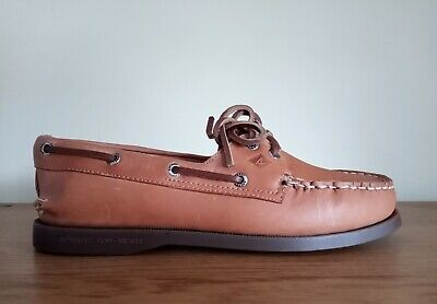 £29.99 • Buy Sperry Top Sider Ladies Brown Slip On Loafers Boat Deck Shoes UK Size 3.5
