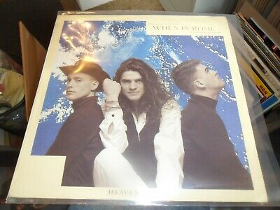 £9.99 • Buy When In Rome-heaven Knows 12'' Vinyl 1989 Synth Pop