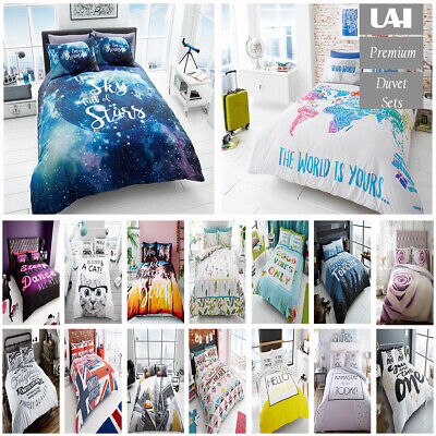 £11.99 • Buy UAREHOME Duvet Cover With Pillow Case Quilt Cover Bedding Set Single Double King