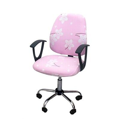AU15.95 • Buy Home Office Chair Cover Computer Desk Swivel Chair Slipcover Study Seat Cover