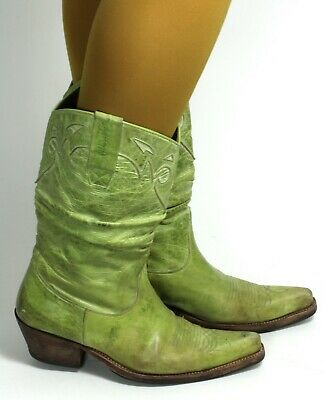 £57.02 • Buy Cowboy Boots Westernstiefel Line Dance Catalan Style Leather Texas Sancho 38