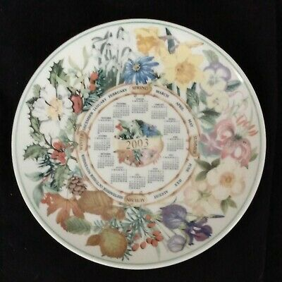 £3.79 • Buy Boxed WEDGWOOD Queens Ware 2003 Calendar Plate Commissioned For The Daily Mail