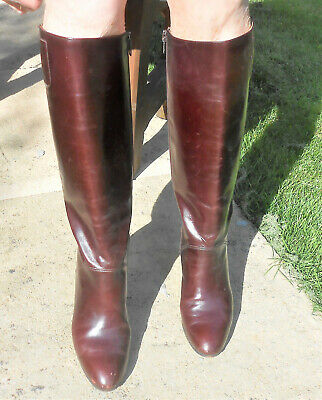 £120 • Buy Brown Long Gucci Boots, Size 36, Used Excellent Condition, In Original Box