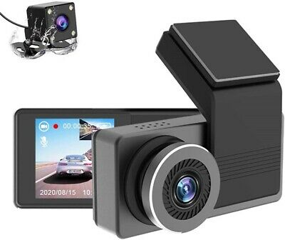 AU27.23 • Buy AUTOWOEL Front And Rear Dash Camera For Cars