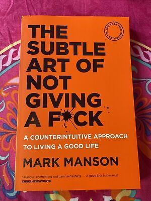 AU20 • Buy BRAND NEW The Subtle Art Of Not Giving A Fck F*ck F * Ck Fuck FAST FREE SHIPPING