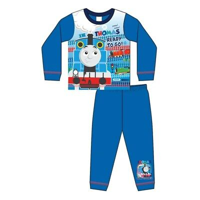 £5.79 • Buy Boys Thomas The Tank Engine Pyjamas Top And Bottom Set Size 18 Months To 5 Years