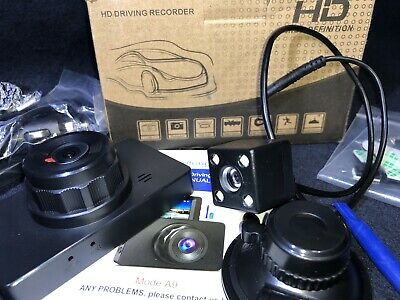 AU48 • Buy Dash Cam Front And Rear, Dash Camera For Cars 1080P Full HD Dual Dash Cam 3  IPS
