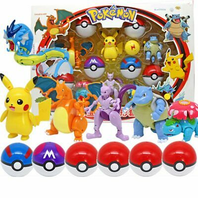 £12.99 • Buy Deformable Pokemon Go Ball Throw N Pop Action Figures Play Toys Deluxe Gifts