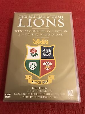 £17.49 • Buy British And Irish Lions Official Complete Collection 2017 Tour To New Zealand R2