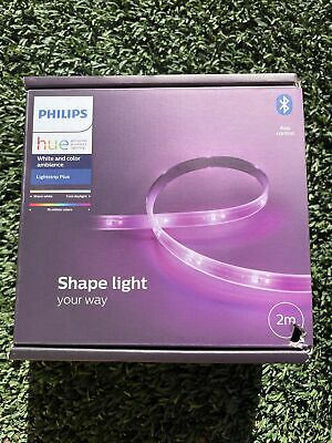 AU100 • Buy Philips Hue White And Colour Ambiance LightStrip Plus Bluetooth