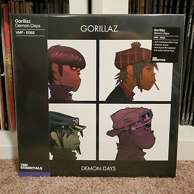 £50.80 • Buy Gorillaz Demon Days RED COLORED VINYL ME PLEASE VMP SEALED MINT COMPLETE INSERTS