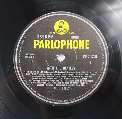 £85 • Buy Rare 1981 Mono With The Beatles HTM Limited Edition Pressing PMC 1206