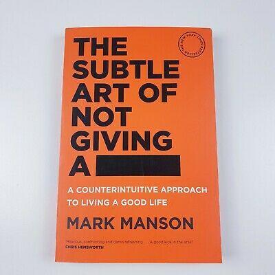 AU19.99 • Buy Mark Manson - The Subtle Art Of Not Giving A  F*ck - Paperback (2018)