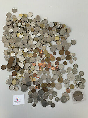 £41 • Buy Job Lot Old/Foreign Money Currency Coins 3.5 Kg Unchecked #6393