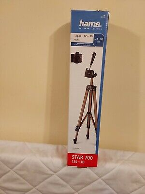 £6.80 • Buy Hama Star 700 Tripod Travel Lightweight Pan And Tilt New For Camera Or Video
