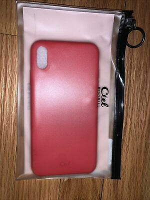 AU10.58 • Buy IPHONE X/XS Ciel By Cyrill IPhone Case, Silicon Red Free Shipping Red Slim